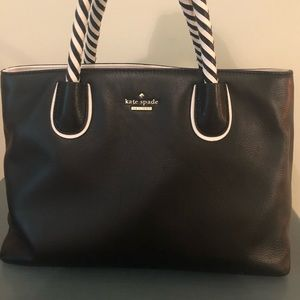 Kate Spade Black Small Tote